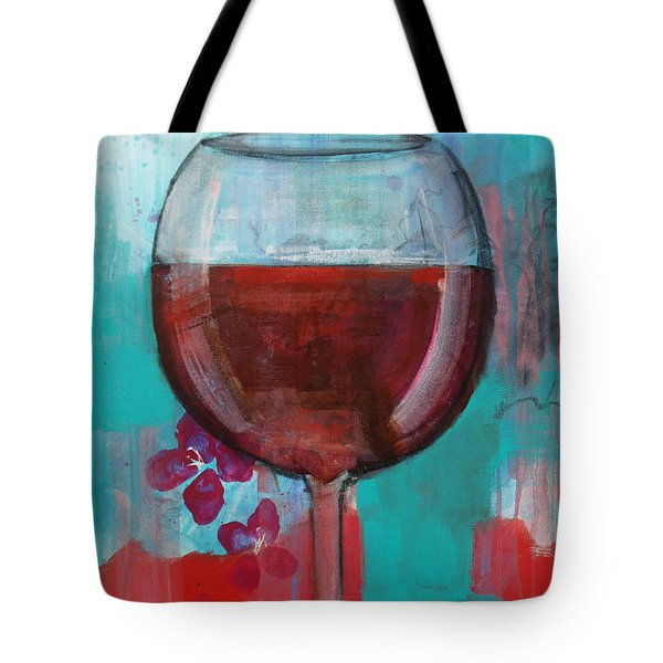 Tote Bag featuring the painting Let It Breathe by Robin Maria Pedrero