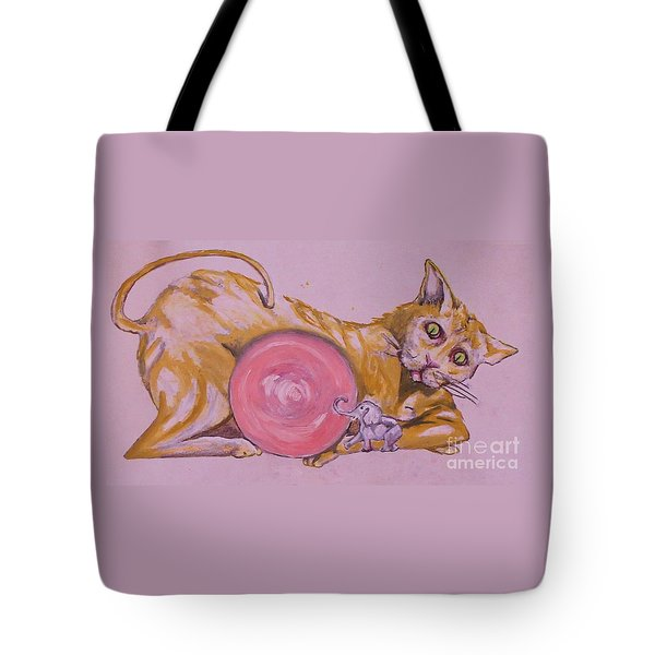 Let's Play Tote Bag