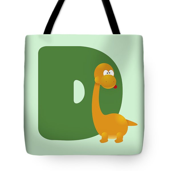 Letter D Tote Bag by Gina Dsgn