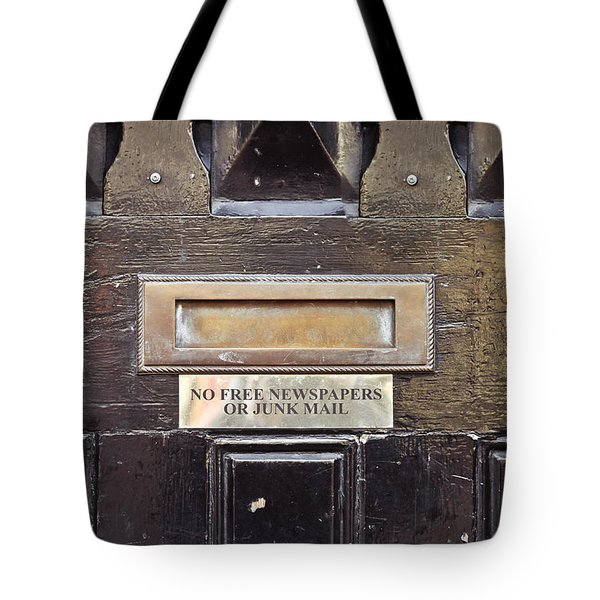 Letterbox Tote Bag by Tom Gowanlock