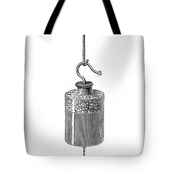 Leyden Jar Tote Bag