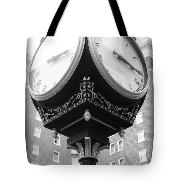 Liberty Mutual Clock Tote Bag