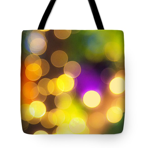 Light Circles Tote Bag