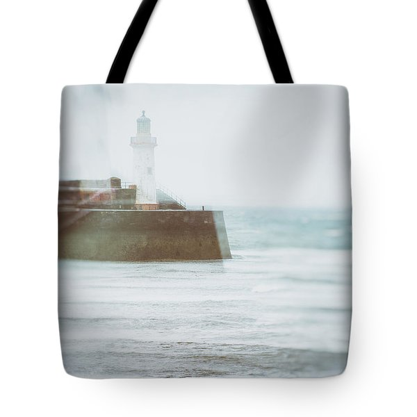 Lighthouse Tote Bag by Amanda Elwell