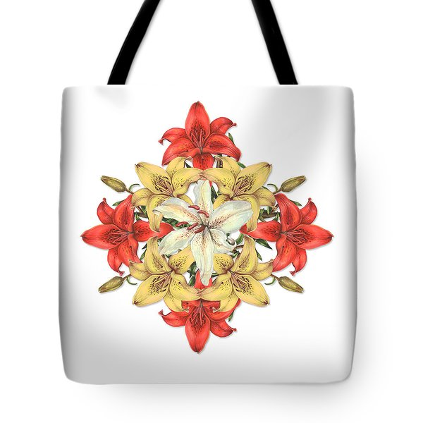Lily Cluster Tote Bag