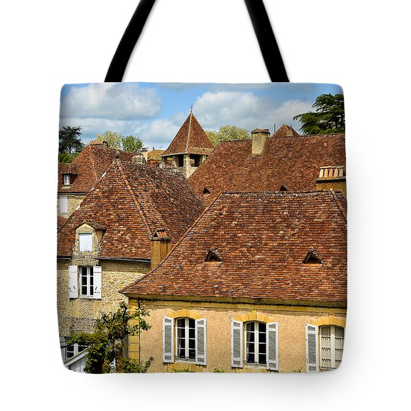 Tote Bag featuring the photograph Limeuil En Perigord by Dany Lison