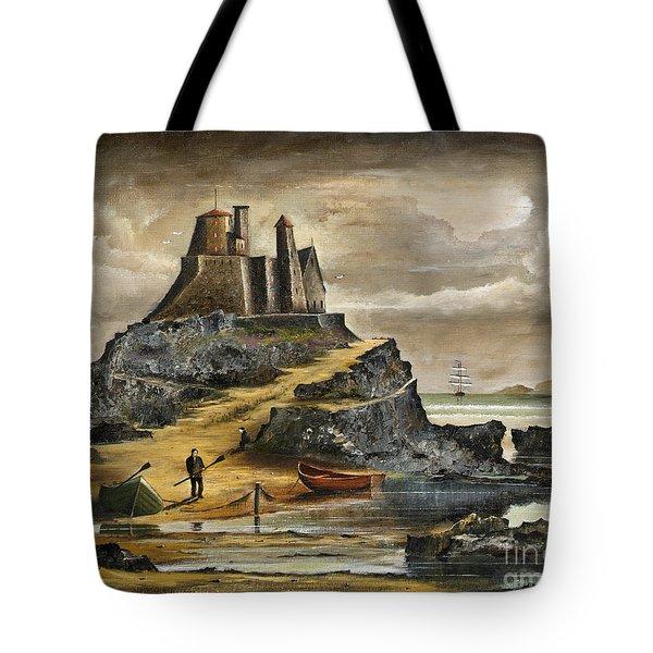 Lindisfarne 2 Tote Bag
