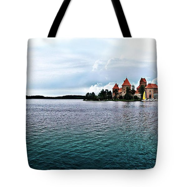 Lithuanian Castle Tote Bag