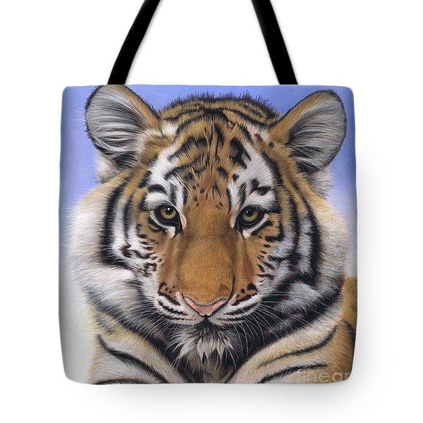 Little Big Cat Tote Bag