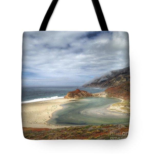 Little Sur River In Big Sur Tote Bag