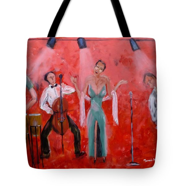 Live Jazz Tote Bag