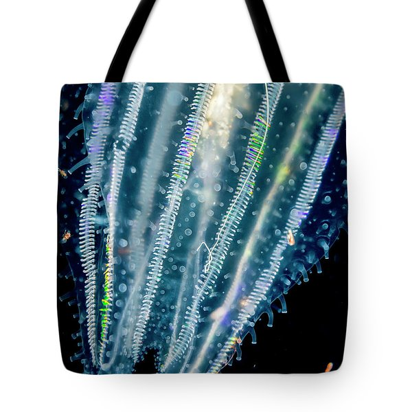 Lobate Ctenophore Or Comb Jelly Tote Bag
