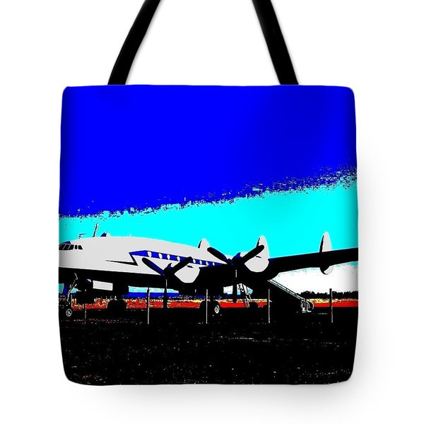 Lockheed Constellation Tote Bag by Will Borden