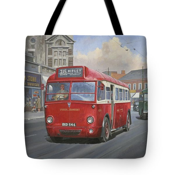 London Transport Q Type. Tote Bag by Mike  Jeffries