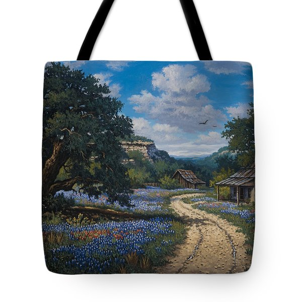 Tote Bag featuring the painting Lone Star Vision by Kyle Wood