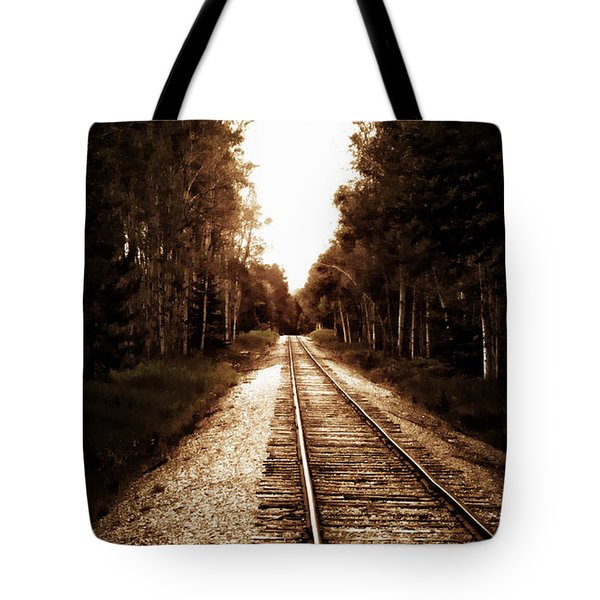 Lonely Railway Tote Bag