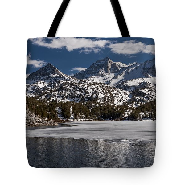 Long Lake Tote Bag by Cat Connor