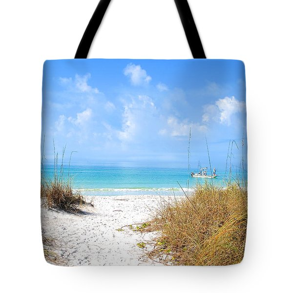 Anna Maria Island Escape Tote Bag by Margie Amberge
