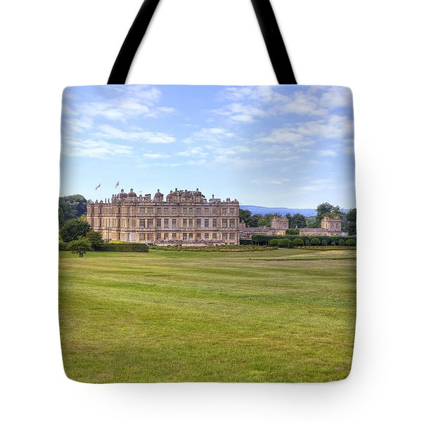 Longleat House - Wiltshire Tote Bag by Joana Kruse