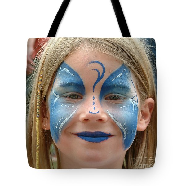 Looby The Butterfly Tote Bag by Sheila Laurens