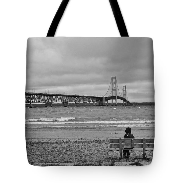 Looking North Tote Bag