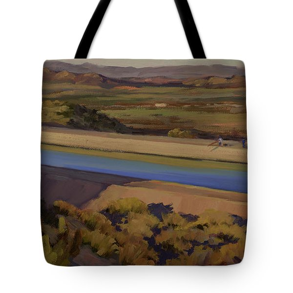 California Aqueduct Tote Bag