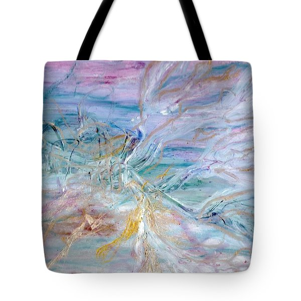Lost Angel Tote Bag by Lesley Fletcher