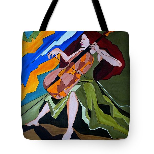 Lost In Music Tote Bag