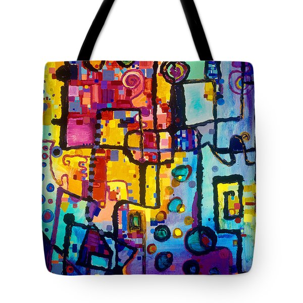 Lost Papers And Urban Plans Tote Bag