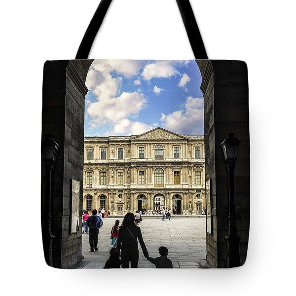 Louvre Tote Bag by Elena Elisseeva