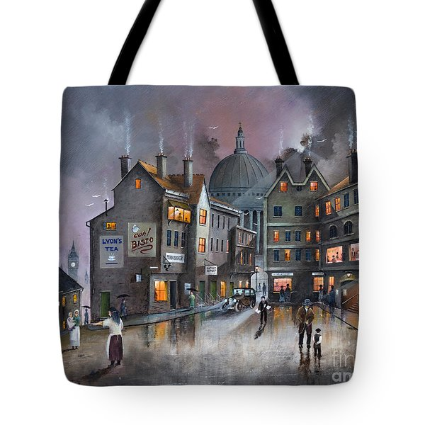 Ludgate Hill Tote Bag