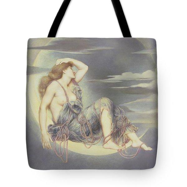 Luna Tote Bag by Evelyn De Morgan