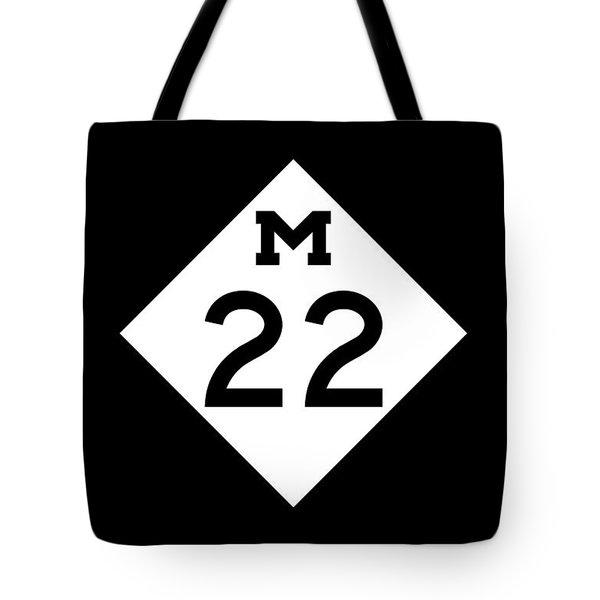 M 22 Tote Bag