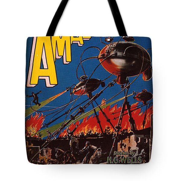Magazine Cover 1926 Tote Bag by Granger