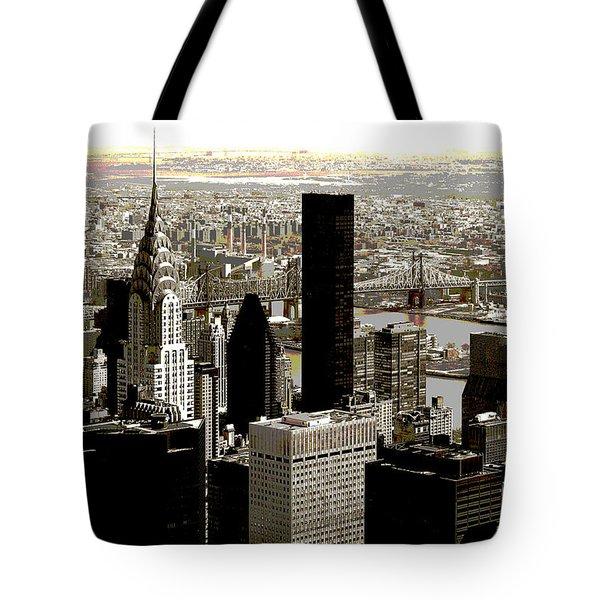 Manhattan Tote Bag by RicardMN Photography