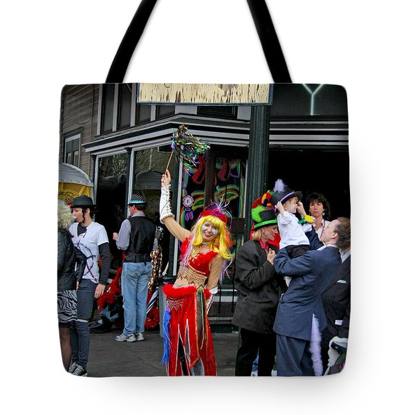 French Quarter Mardi Gras Tote Bag