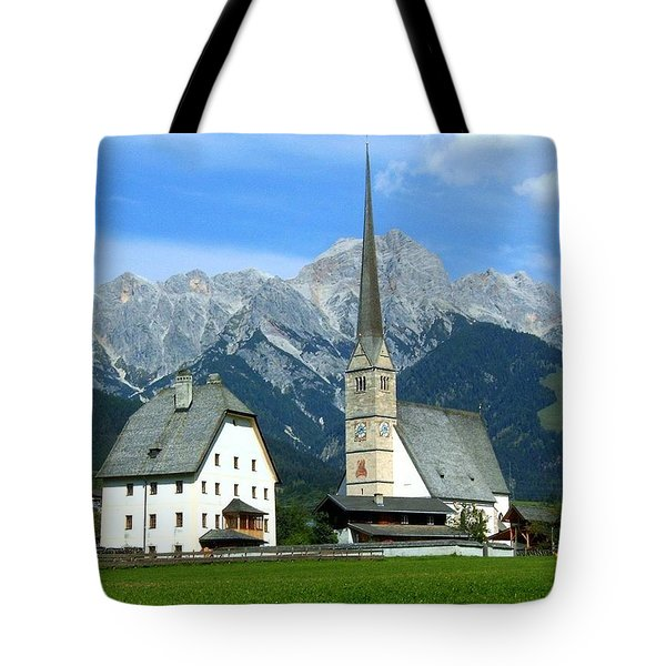 Maria Alm Tote Bag