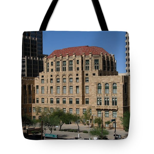 Maricopa County Courthouse Tote Bag