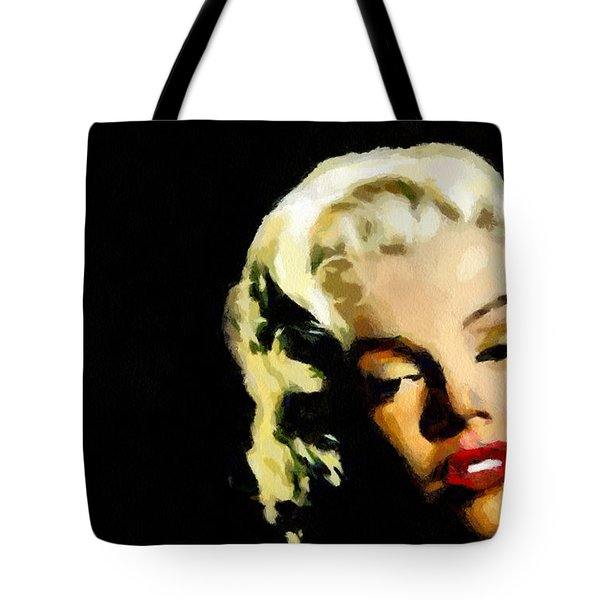 Marilyn Monroe Tote Bag by Georgi Dimitrov