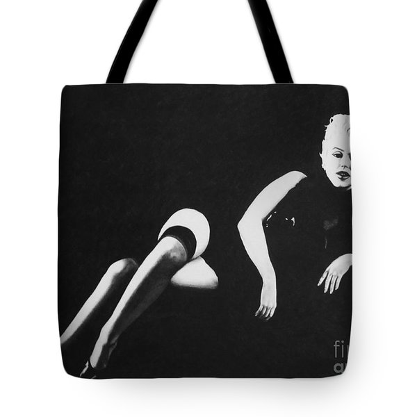 Marilyn Reclining Tote Bag
