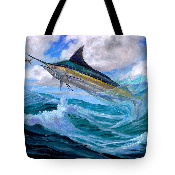Marlin Low-flying Tote Bag