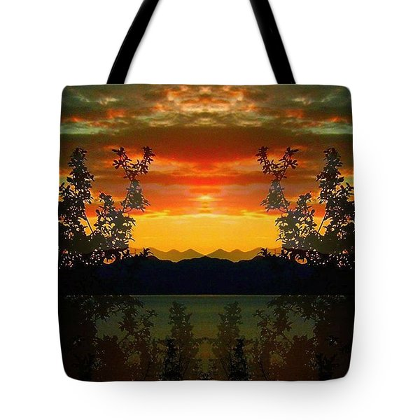 Tote Bag featuring the photograph Marsh Lake - Yukon by Juergen Weiss
