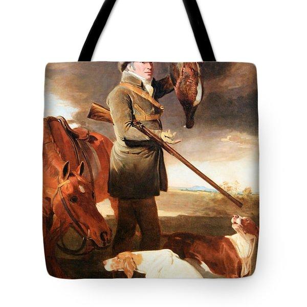 Marshall's J G Shaddick -- The Celebrated Sportsman Tote Bag