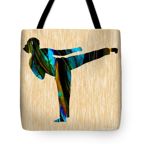 Martial Arts Karate Tote Bag