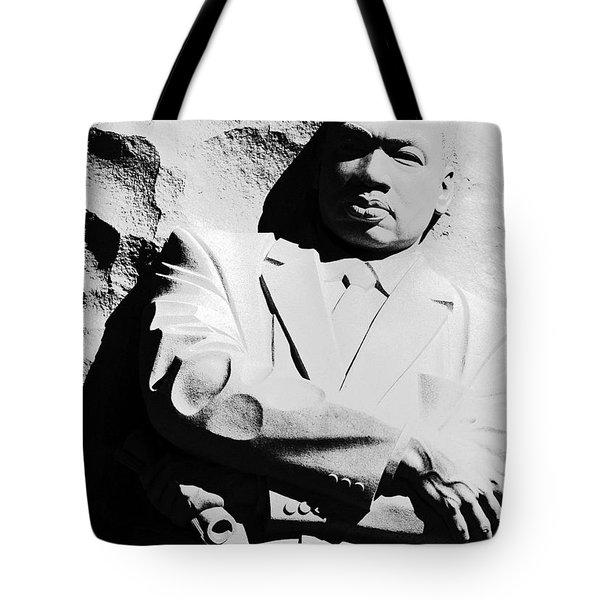 Tote Bag featuring the photograph Martin Luther King Memorial by Cora Wandel