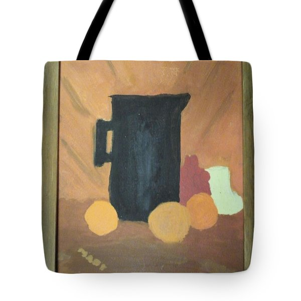 Tote Bag featuring the painting #1 by Mary Ellen Anderson