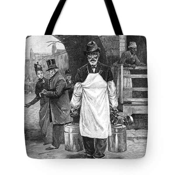 Maryland Oysters, 1889 Tote Bag