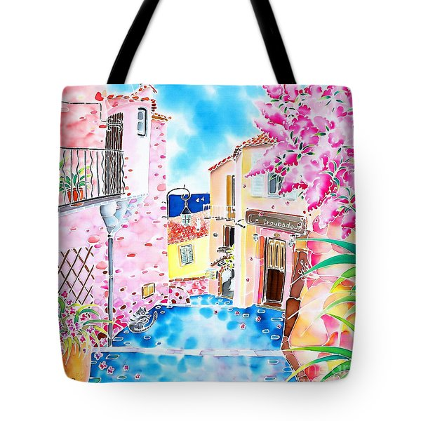 Mediterranean Wind Tote Bag