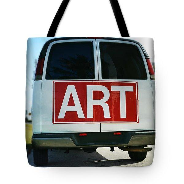 Meeting Warhol Tote Bag by Laura Fasulo