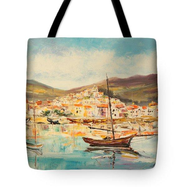Mentone Harbour Tote Bag
